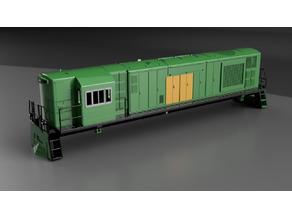AN Tasrail ZC Class Locomotive
