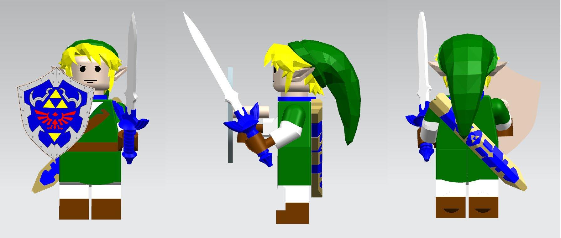 LEGO® compatible Link from Zelda (Nintendo®)