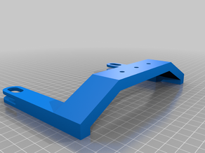 Ender3 Bed Handle with generic mount capability