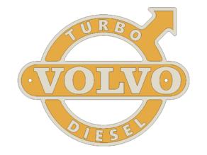 Volvo Turbo Diesel Sign/Emblem