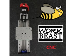 Workbee CNC Z-Axis upgrade Workbeast CNC Mod