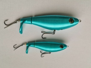 Whopper Plopper 2 fishing lure (one piece)