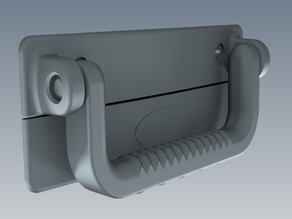 Suitcase Handle for 3D prototyping in PLA