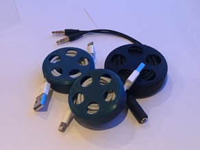cable reel for 1-2m cables