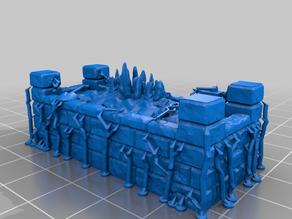 HeroQuest kellars keep/karn varn 3D tiles