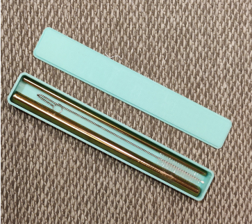 Reusable Straws Container