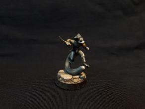 Furry/Anthro assassin character miniature
