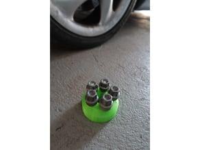 Porsche wheel bolt holder