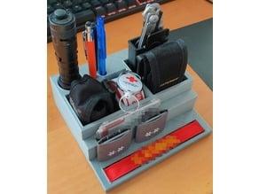Shelf for paramedic gadgets