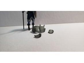 Breastplate - Half Plate Armor for Miniature Customization