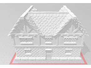 medieval house (U shaped bricked wide version)