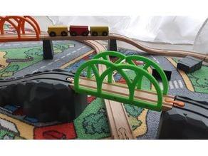 Train bridge - Brio / IKEA clone