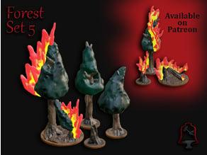 OpenFoliage Forest Set 5 - Burning Woods