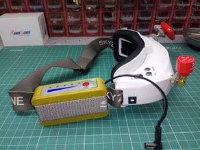 Skyzone 18650 battery box