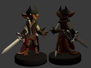 Kobold Pirate Miniature