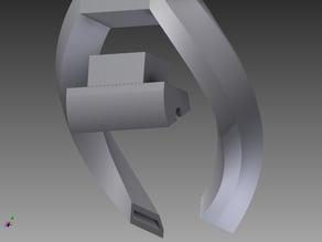 LED mount for Printermod.com hot end light