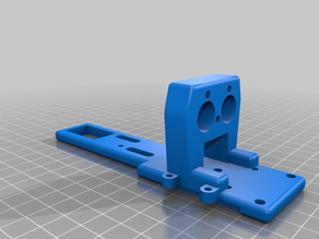 HEvo hotend mount for Chimera and adapter for 12mm probe