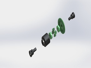 Wltoys Diff. Gearbox
