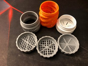 Desiccant Containers, Adapters and Sieves