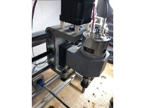 3018 CNC Z Axis Bearing Lock
