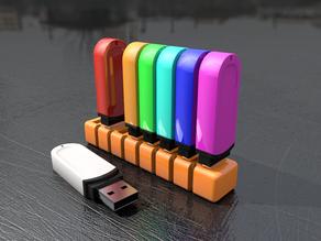 Simple USB Stick Holder