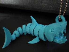 Articulated Shark with ring (remix)