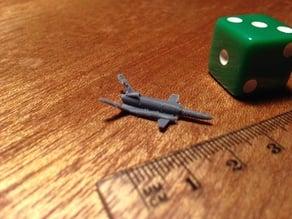 sea skimming drone/missile for microarmor