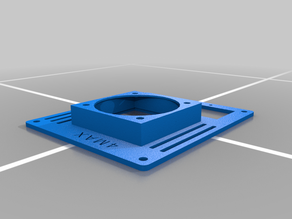 Anycubic 4MAX Cover for Fan [60x60x25mm]