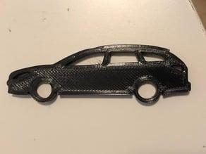 Mazda 6 / Atenza Keychain