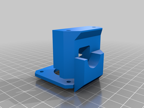MDD adapter for Winsinn dual gear extruder compatibility with HMG5