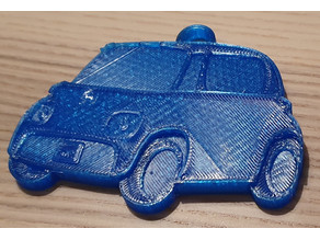 Citroen Ami one keyring