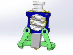 (Modified)E3D V6 Volcano Remote Pipe Cooling Blowing System