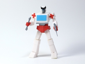 Articulated G1 Transformers Ratchet - No Support
