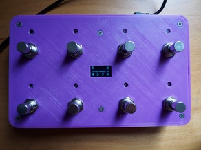 8 button USB MIDI footswitch