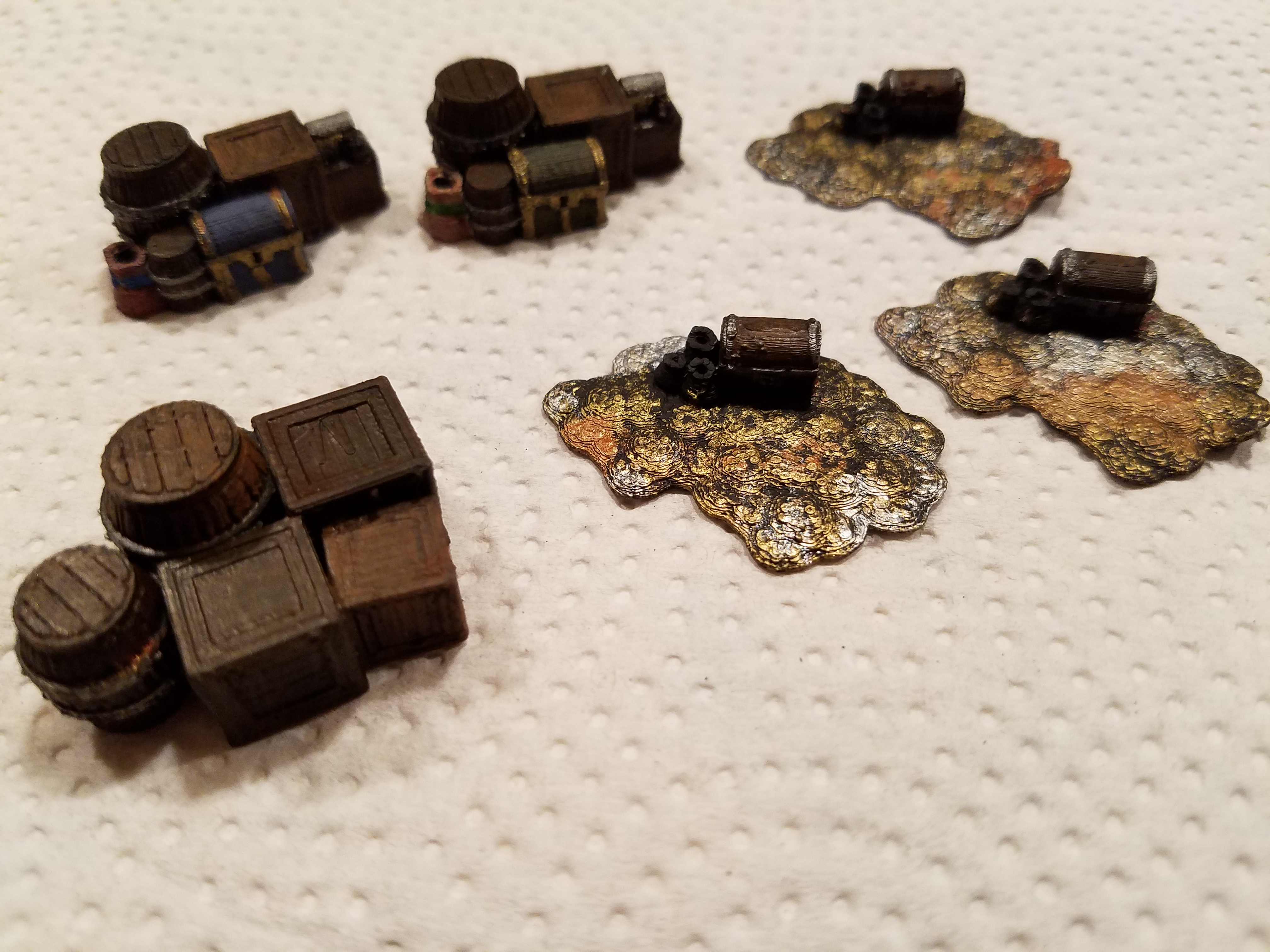 Fantasy Loot Markers (15mm scale) by Gh0stC0de