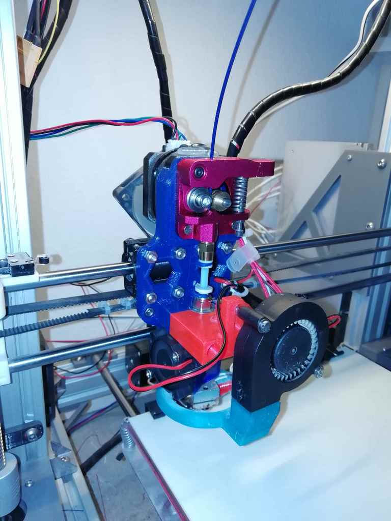 Anet A8 direct drive E3D X-carriage