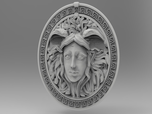 Medusa For Cnc By Cncmodels4you Thingiverse
