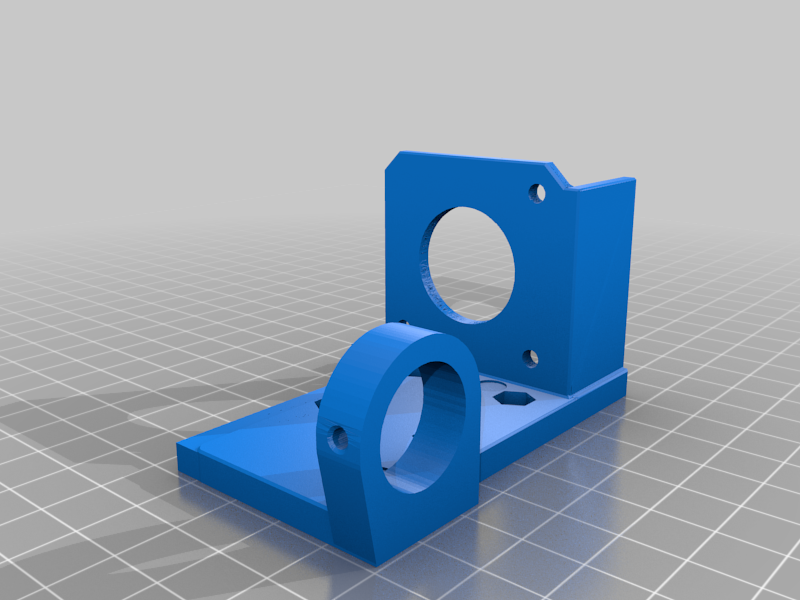 I3 BMG extruder assembly with inductive probe