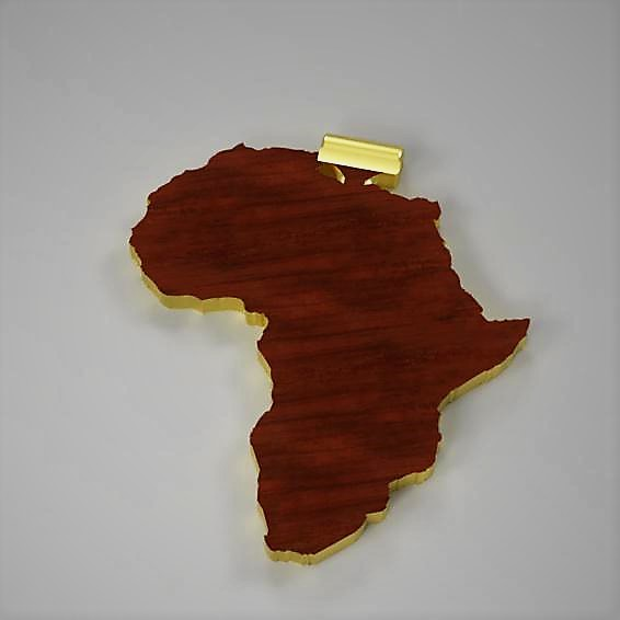 Africa pendent