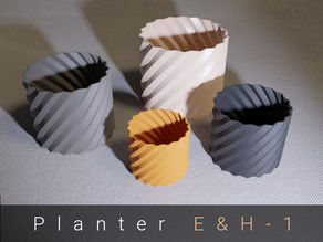 Planter / Pot / Vase - Four Sizes