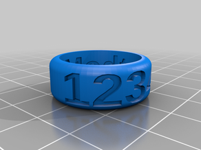Lap Counting Ring
