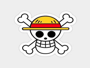 One Piece Jolly Roger RELIEVE