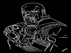 Thanos stencil 3