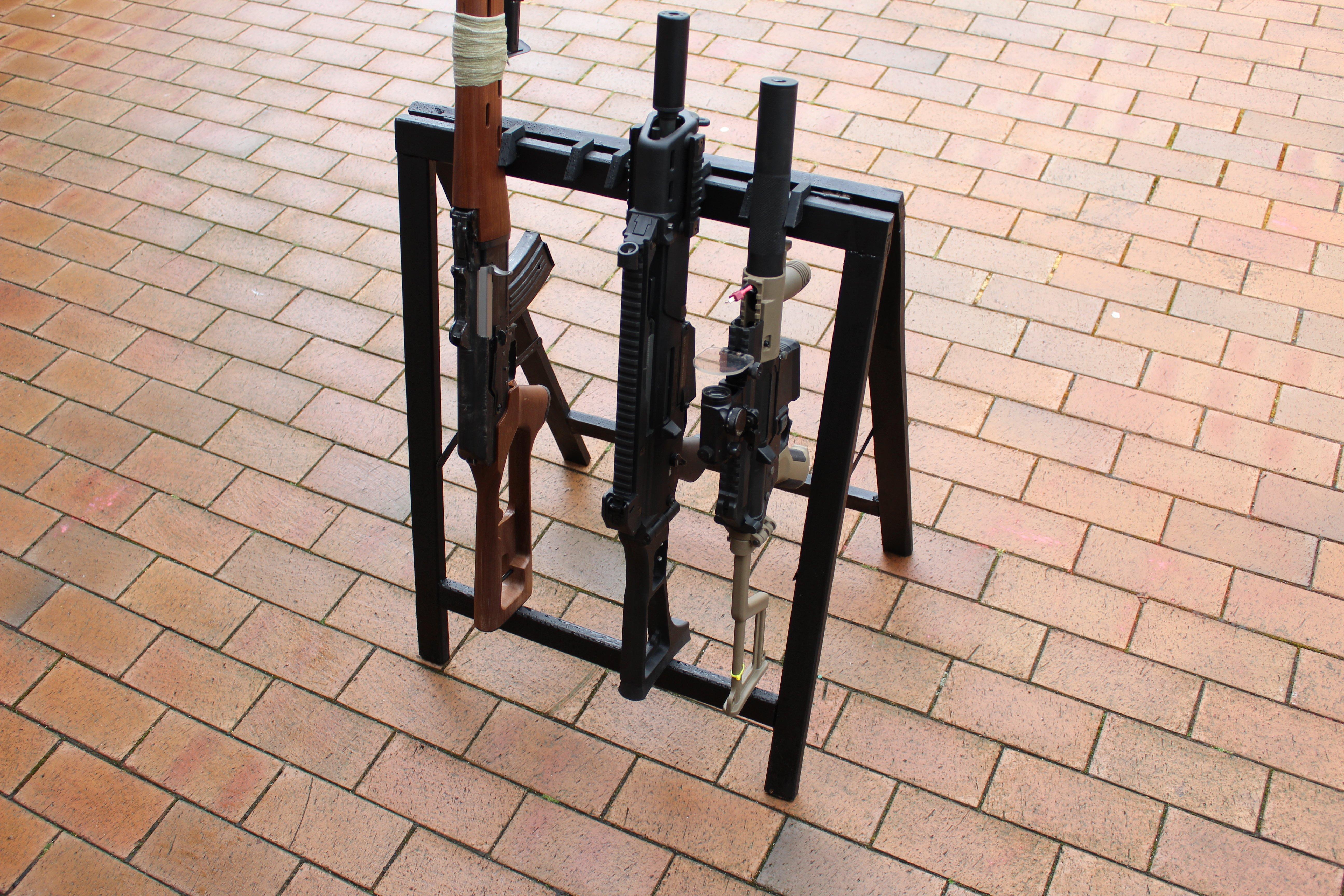 Obi Gun Rack Clamp