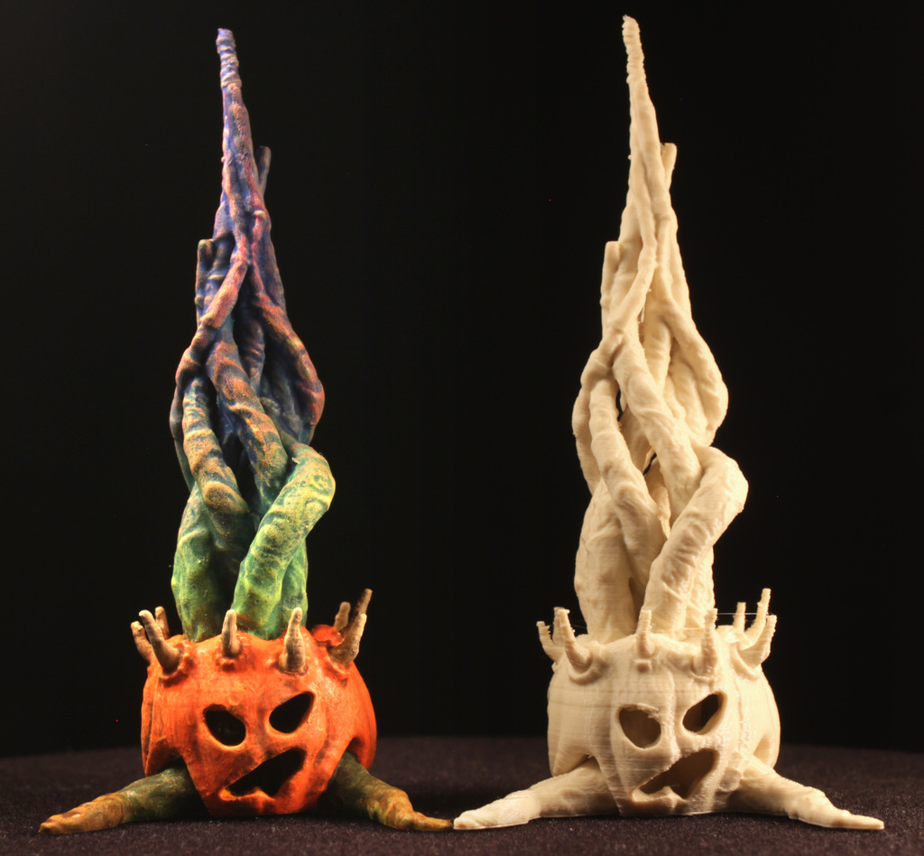 "Tabletop plant: ""Halloween 2020"" (Alien Vegetation 28)"