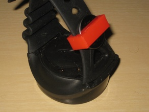 Mares Puck battery keeper