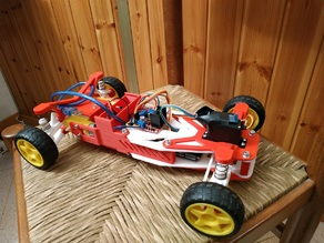 P3F 1:10 RC CAR - 3D Printed