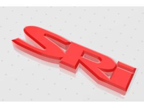 Vauxhall SRi Badge