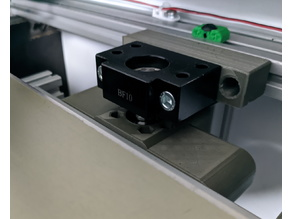 BLV MGN CUBE - SFU1204 Z axis bed mount