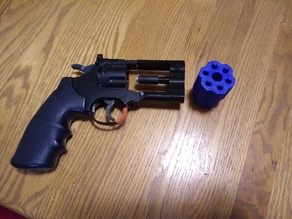 Nerf to airsoft pistol mod